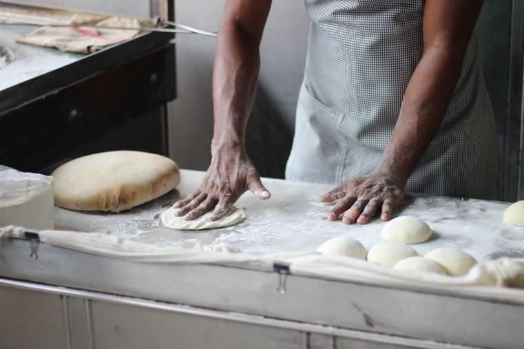 Frisches Brot im Wirtshaus am Gehrenberg